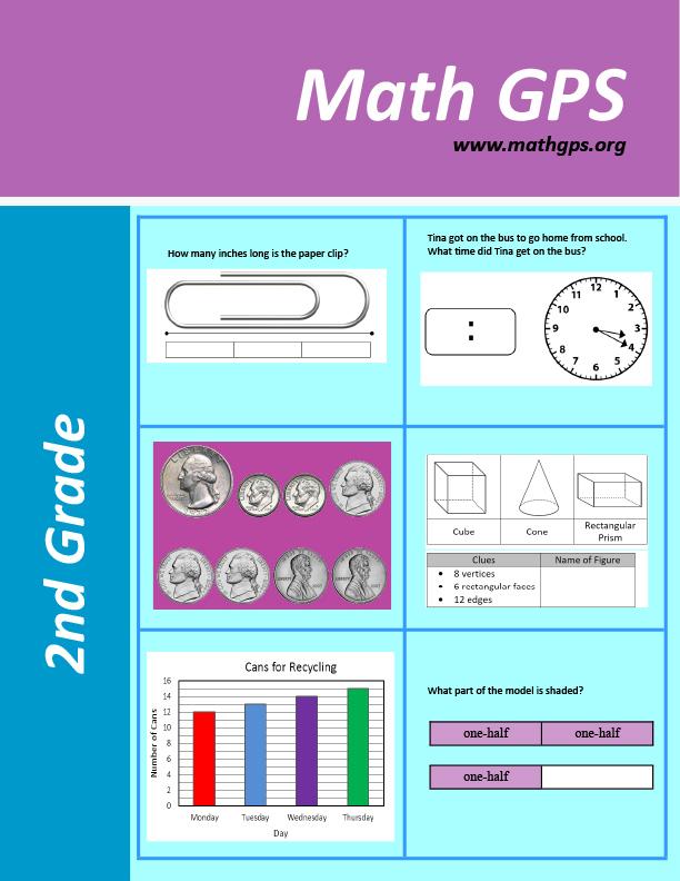 2nd - 8th Workbooks - English - Math GPS